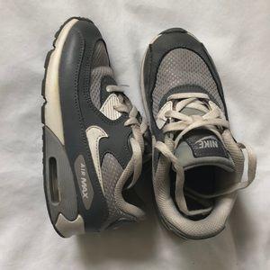 Toddler Boys Gray Nike Air Max Sz 10